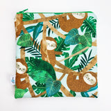 LARGE ReUsable Snack Bag - sloth