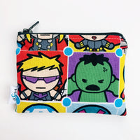 SMALL ReUsable Snack Bag - avengers square