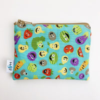 SMALL ReUsable Snack Bag - fruit and veggies