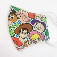 SMALL CHILD cotton face mask- toy story group