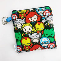 Mask Bag - medium square - avengers group