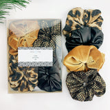 Luxe Scrunchie gift box set - Wild style