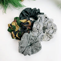 Luxe Scrunchie gift box set - tough stuff