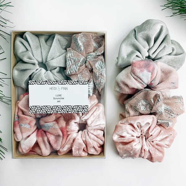 Luxe Scrunchie gift box set - Ballet