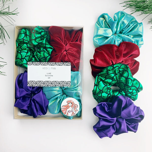 Luxe Scrunchie gift box set - Ariel