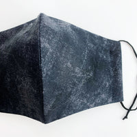 ADULT cotton face mask- charcoal stone