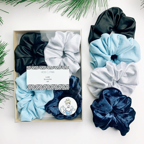 Luxe Scrunchie gift box set - Cinderella
