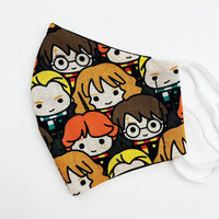 SMALL CHILD cotton face mask- harry potter group