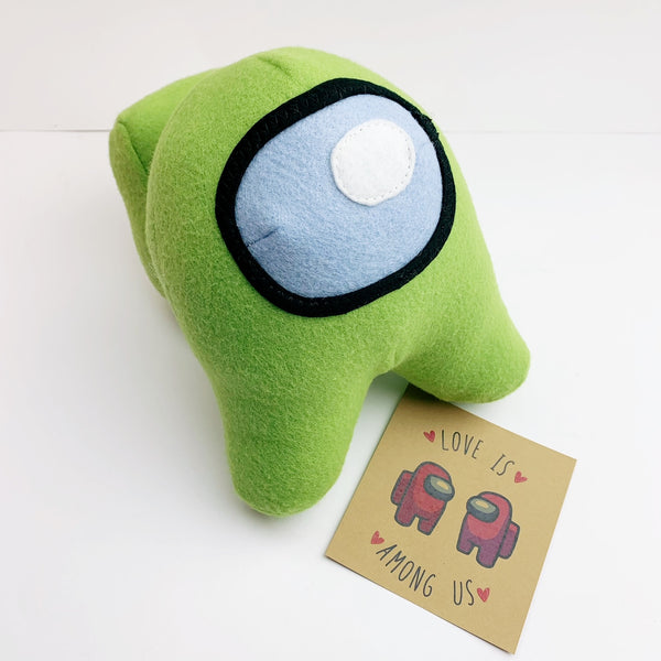Among Us Plush doll toy - Valentine Green