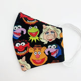 SMALL CHILD cotton face mask- muppets
