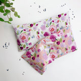 Lavender Eye Pillow - watercolor floral pink