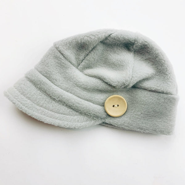 Downtown Hat -FLEECE - dove grey