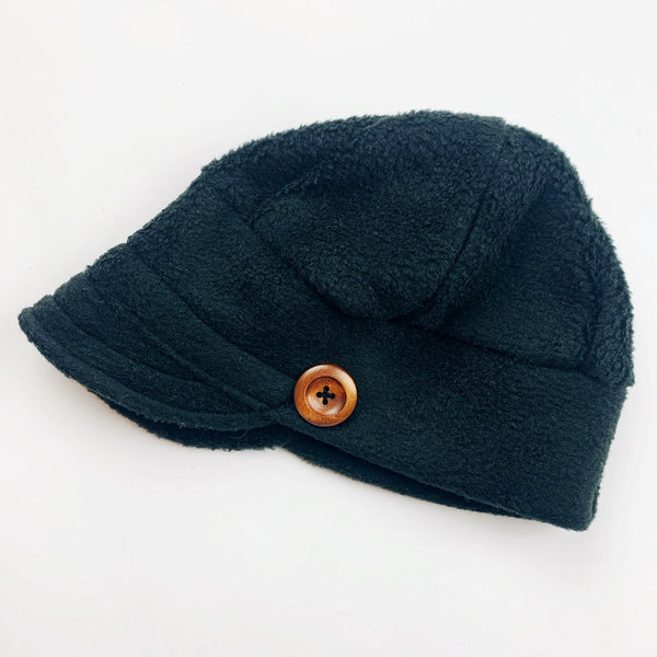 Downtown Hat -FLEECE - Black