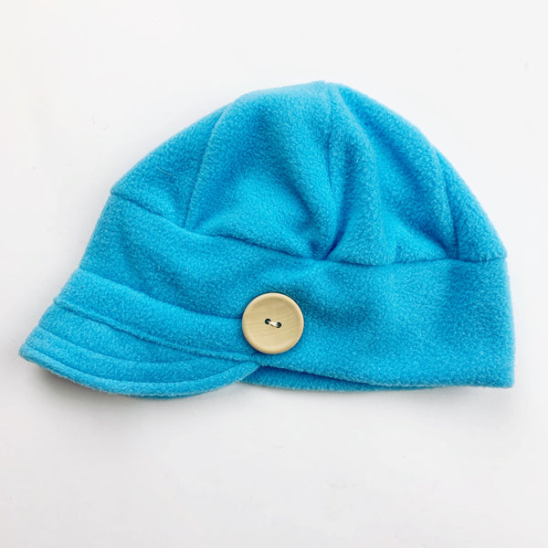 Downtown Hat -FLEECE - Blue