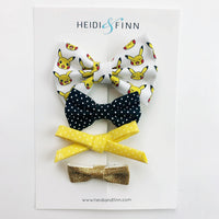 Hair bow sets hairbow - Pokemon yellow