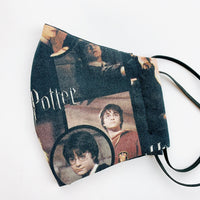 SMALL CHILD cotton face mask- harry potter