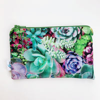 MEDIUM ReUsable Snack Bag - succulent