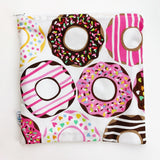 LARGE ReUsable Snack Bag - donuts