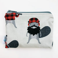 SMALL ReUsable Snack Bag - canada beaver