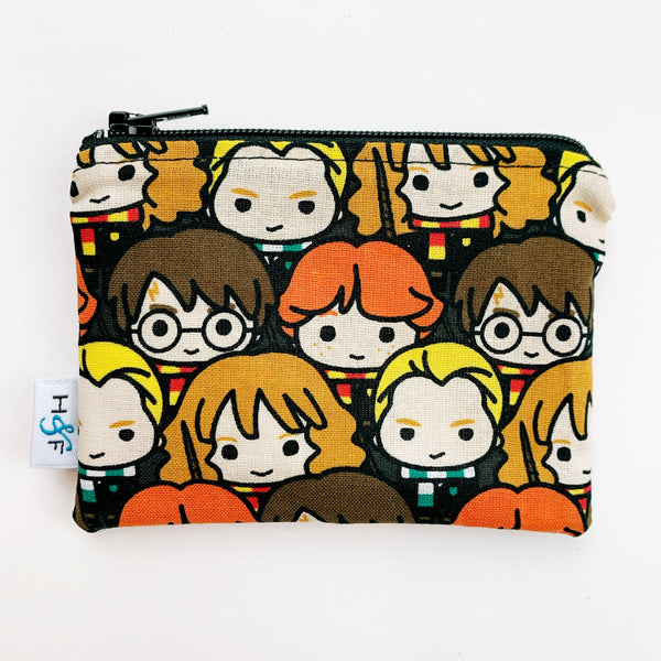 SMALL ReUsable Snack Bag - harry potter