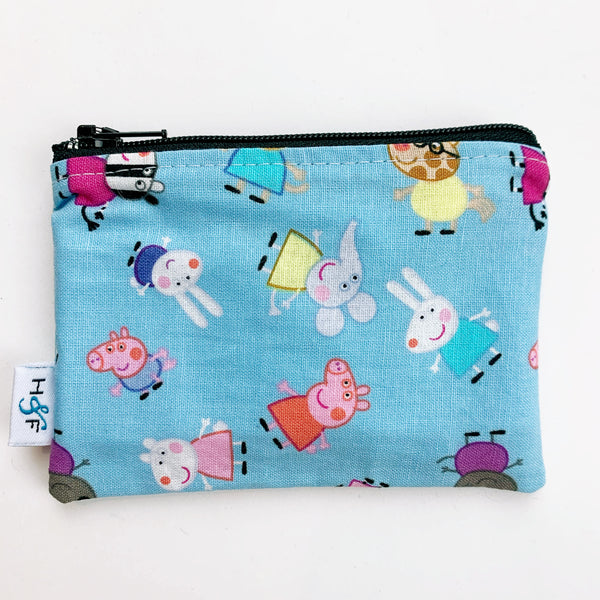 SMALL ReUsable Snack Bag - peppa pig mini