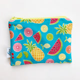 SMALL ReUsable Snack Bag - summer fruits
