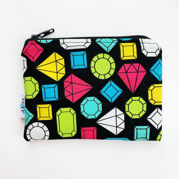 SMALL ReUsable Snack Bag - jewels