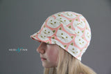 Downtown Hat -cotton jersey PINK CAT