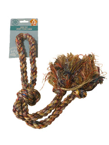 Dog Toy Rope with Handle and Knot