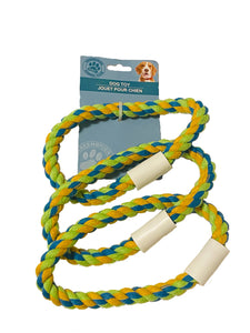 Dog Toy Rope with triple Rings