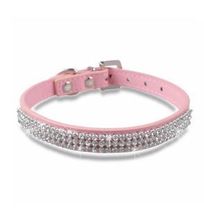 Rhinestone Dog Collar