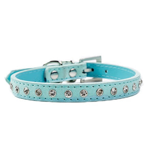 Row Rhinestone Collar Dog