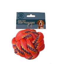 Load image into Gallery viewer, Rope Knot Dog Toy