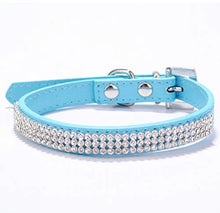Load image into Gallery viewer, Rhinestone Dog Collar