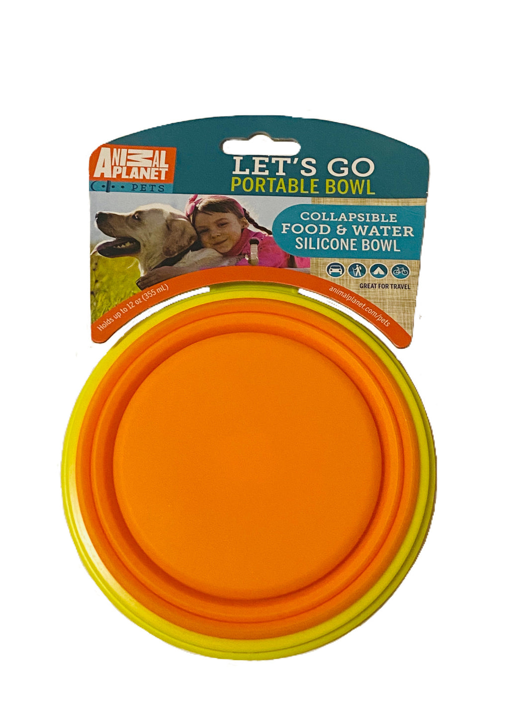 Animal Planet Travel Bowl