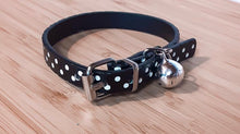 Load image into Gallery viewer, Dots Cat Dog collars with Bell