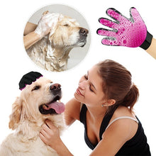 Load image into Gallery viewer, Pet Grooming Glove Ideal Brush & Massage Tool-Perfect for Cats & Dogs