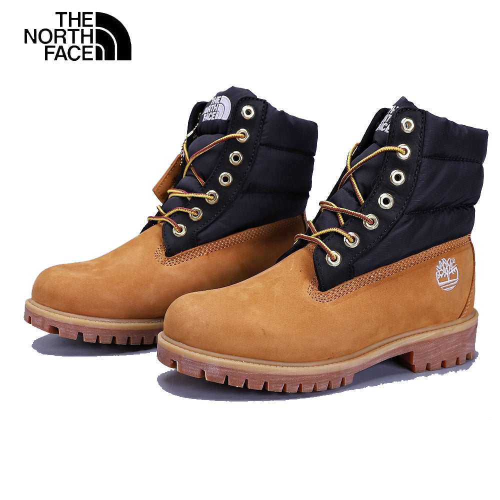 Timberland×THE NORTH FACE Tooling boots 男女兼用 厚底 防水性 ツーリングブーツ brown