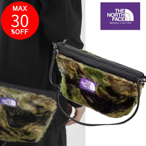 THE NORTH FACE ザノースフェイス パープルレーベル Camouflage Fur Field Pouch ショルダーバッグ clolorful