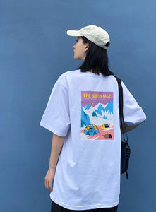 THE NORTH FACE パープルレーベル THF SUMMER EXPEDIOTION 半袖Tシャツ white