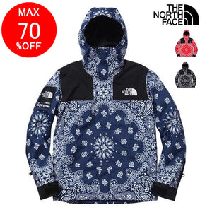 THE NORTH FACE × Supreme bandana jacket  マウンテンジャケット red blue black 3色