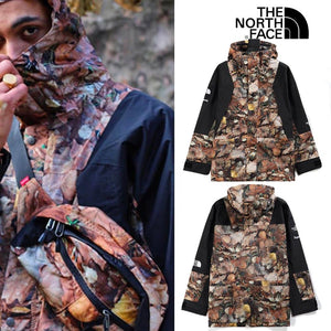 Supreme ×The North Face 16FW/AW Mountain Light Jacket  男女兼用 Leaves (木の葉)