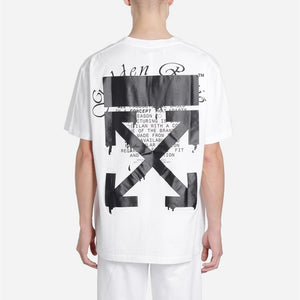 Off-White 20SS DRIPPING ARROWS S/S OVER TEE オフホワイト Tシャツ black white 2色