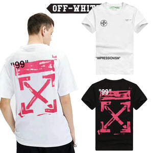 Off-White  T-shirt  19SS  STENCIL  S/S  OVER  TEE  オフホワイト  半袖Tシャツ  black  white  2色
