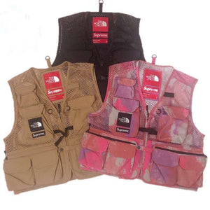 Supreme × The North Face  Cargo Vest 20ss ザノースフェイス多ポケット ベスト