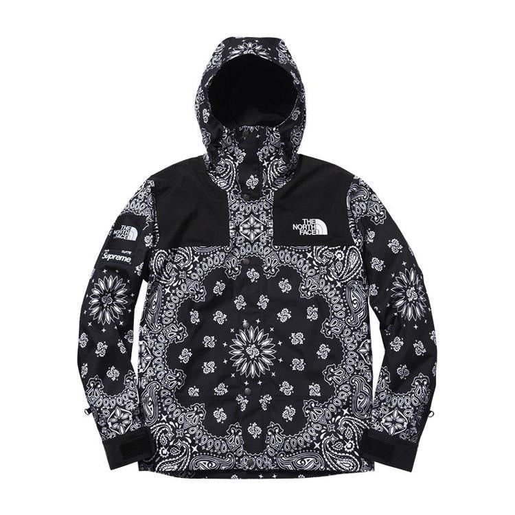 THE NORTH FACE × Supreme bandana jacket マウンテンジャケット red ...