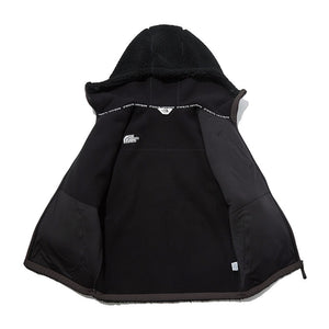 THE NORTH FACE 2020-21 AW RIMO FLEECE HOOD JACKET MU1461 ザノースフェイス ジャケット 男女兼用 black white 2色