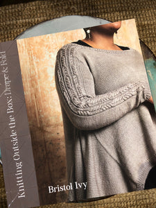 Knitting Outside the Box: Drape and Fold Book by Bristol Ivy