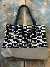 Load image into Gallery viewer, Frankie & Coco large tote with inside pockets