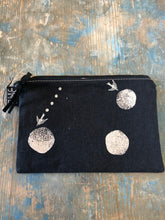 Load image into Gallery viewer, Frankie and Coco small project flat zippered pouch